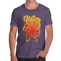 Twisted Envy Men's Octopus Tentacles 100% Cotton T-Shirt