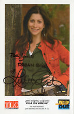 LESLIE SEGRETE - Signed 8x6 Photoraph - US TV - TLC WHILE YOU WERE OUT