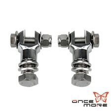 """For Harley Footpegs Engine Guard Clamps / Highway Bar Mounts 1-1/8"""" H-D Metric"""