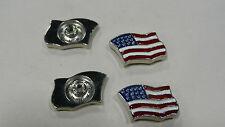 American Flag screwback concho, $2.75 each