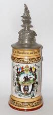 ANCIEN PICHET réserviste Husaren Régiment 14 Kassel Krug 1903 Chope à bière