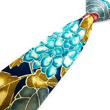 VAN HEUSEN Vintage Multicolor Floral Mens Tie