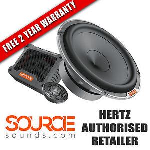 "Hertz Mille Pro MPK 1650.3 6.5"" Component Kit - FREE TWO YEAR WARRANTY"