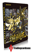 ♦Yu-Gi-Oh!♦ Classeur 9-Pocket Portfolio 180 cartes : Golden Duelist Collection