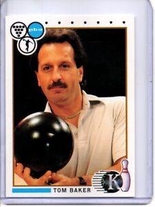 1990 PBA BOWLING CARD #73 TOM BAKER (HALL OF FAMER)