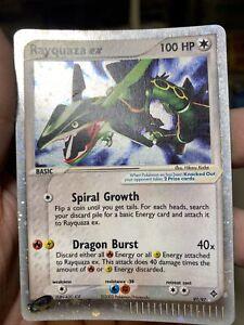 Rayquaza EX 97/97 EX Dragon Pokemon Card PL