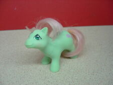 "1984 Hasbro Hong Kong MY LITTLE PONY ""Baby Cuddles""? Pink Rattle Symbol"