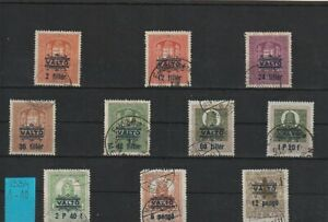 1934  HUNGARY  REVENUE LOT  DIFFERENT STAMPS  SET