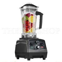 2L Heavy Duty Commercial Blender withTimer 2200KW BPA-Free Fruit Juicer 110/220V