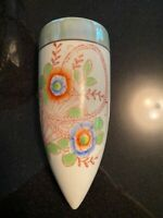 Lusterware Flower Vintage Wallpocket