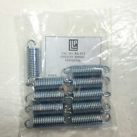 "SNOWMOBILE EXHAUST SPRINGS 2 1/2"" LONG FROM HOOK TO HOOK 10 PK NEW OLD STOCK"