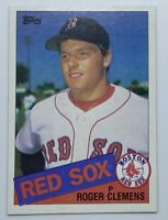 """1985 Topps- Roger Clemens Rookie Card #181 """"Rocket"""""""