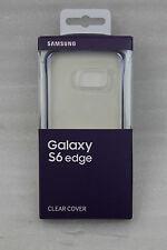 Samsung Galaxy S6 Edge Clear Cover EF-QG925BBE - schwarz NEU
