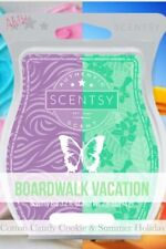 2 SCENTSY Bar COTTON CANDY COOKIE & SUMMER HOLIDAY Mix BOARDWALK VACATION Bars