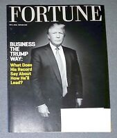 FORTUNE MAGAZINE  MAY 1 2016- PRESIDENT DONALD TRUMP BUSINESS THE TRUMP WAY