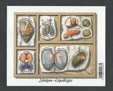 België blok nr. 122 xx -  schelpen  -  postfris