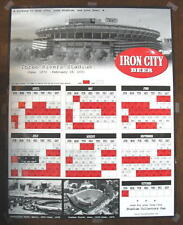 Iron City Beer Three Rivers Staduim Pittsburgh Pirates Forbes Field Poster Sign