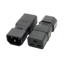 New PDU PSU Welleen WA-0089 IEC C14 male to C19 adapter, IEC C19 to C14 adapter