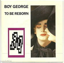 """BOY GEORGE 45T 7"""" To be reborn - Where are you now ?"""