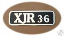 Jaguar Sport XJR XJ40 3.6 Litre Boot Badge JAGUARSPORT