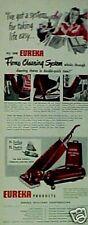 1947 Eureka Vacuum Sweeper Household Appliance Print AD