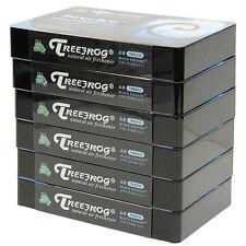6 PACK TREEFROG FRESH BOX (aka XTREME FRESH) BLACK SQUASH SCENT AIR FRESHENER