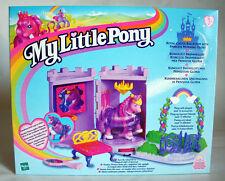 VERY RARE G2 1998 MY LITTLE PONY ROYAL CASTLE BALLROOM MORNING GLORY NEW MISB !