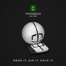 Trident Align - Ball Marker - Next Generation Ball Marker - Aim Your Putts