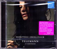 Dorothee OBERLINGER: TELEMANN 12 Fantasias Recorder Blockflöte CD Fantasia DHM