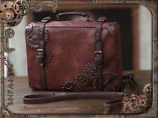 Lolita Retro Vintage Steam Punk Gear Handbag Messenger Bag Backpack 3ways