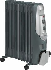AEG RA 5522 Ölradiator Heizgerät Heizung 11 Rippen, 2200 W mit Wärmeregelung
