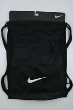 NIKE ALPHA ADAPT GYMSACK BLACK/WHITE DRAWSTRING BAG BACKPACK GYM SACK BA5256 NEW