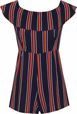 Polyester Machine Washable Striped Jumpsuits, Rompers & Playsuits for Women