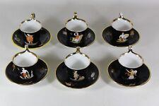 Biedermeier Kaffeeset Carl Tielsch Altwasser Schlesien um 1875 RAR +++++ (VIT)