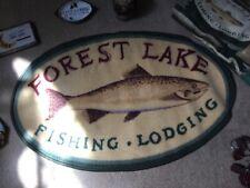 rustic lodge cabin decor bath set