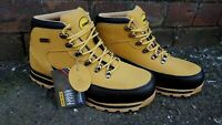 MENS SUEDE LEATHER SAFETY WORK BOOTS STEEL TOE CAP SHOES TRAINER HIKER SIZE