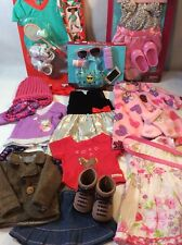"""Lot Of 18"""" Inch Doll Clothes Outfits Shoes Fits Our Generation /American Girl 02"""