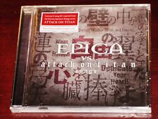 Epica: Vs. Attack On Titan Songs EP CD 2018 Nuclear Blast Recs USA NB 4454-2 NEW