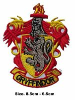 Gryffindor harry potter iron on patch jacket badge