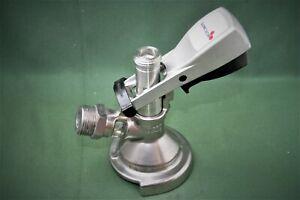 KEG-Verschluss für Flachfitting, KEG-Fassanschluss, Hobbybrauer(09)