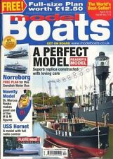 April Model Boats Monthly Magazines in English