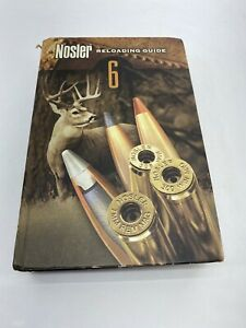 Nosler Reloading Guide 6 Manual Handbook