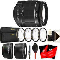 Canon EF-S 18-55mm f/3.5-5.6 IS II Lens + Accessory Kit for Canon 600D 550D 500D