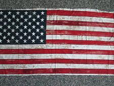 FLAG USA WASHED DENIM COTTON FABRIC PANEL