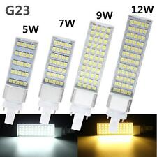 G23 5W 7W 9W 12W 5050SMD Led Horizontal Plug Corn Light Ceiling Lamp 110V-220V