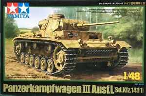 Tamiya 32524 German Panzerkampfwagen III Ausf.L 1:48 Scale Plastic Kit