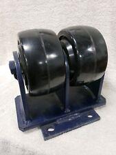 RWM 2-95 Rigid Dual Wheel 6 Inch Caster