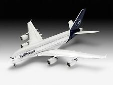 """Revell 1:144 03872 Airbus A380-800 Lufthansa """"New Livery"""" Model Aircraft Kit"""