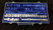 GEMEINHARDT SOLID SILVER STEP-UP FLUTE MODEL M3S WITH CASE - READY TO PLAY