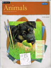 Walter Foster ANIMALS Learn to Paint Step-by-Step with Acrylics HT305 Birds